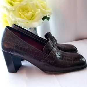 Beautiful Brown Bandolino Loafer style Shoes